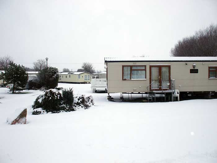 Welcome To Northam Farm In The Snow